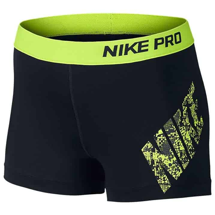 nike pro 3 shorts ladies cheergear born to cheer. Black Bedroom Furniture Sets. Home Design Ideas