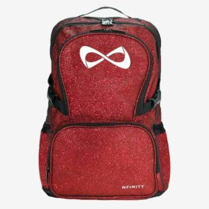Nfinity Sparkle Red Backpack