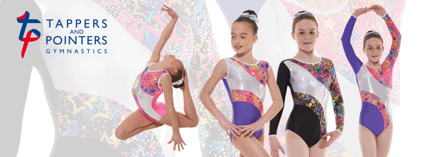 Metallic Astro Foil Long Sleeve Gymnastic Leotard G40