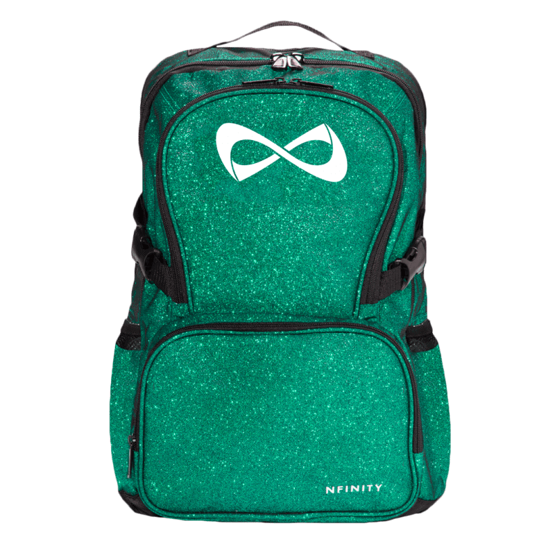 Nfinity Sparkle Emerald Green Backpack