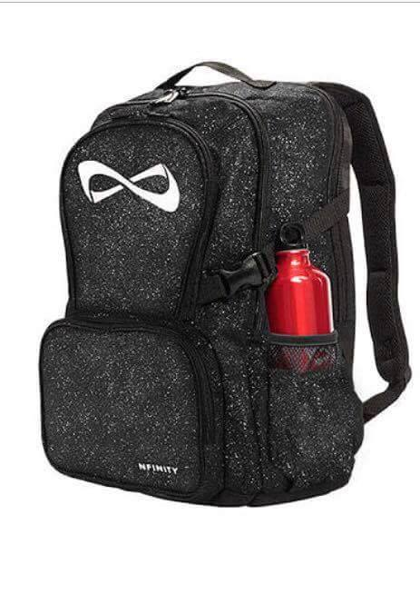 Nfinity Black Sparkle Backpack