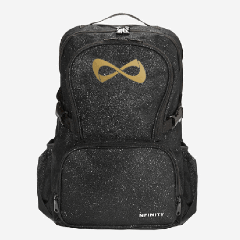 Nfinity Sparkle Gold Logo Backpack