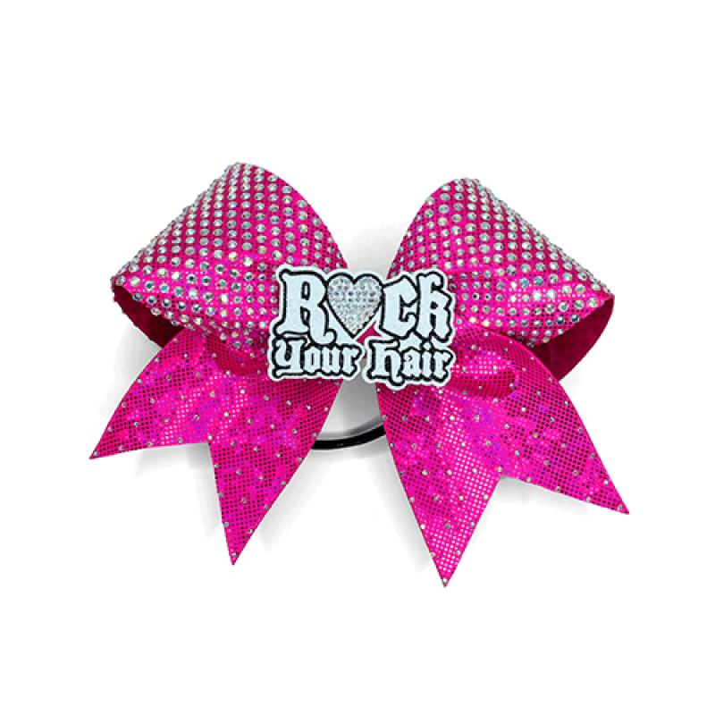 ROCK YOUR HAIR CENTRE LOGO BOW
