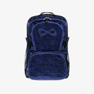 Nfinity Millennial Navy Sparkle Backpack