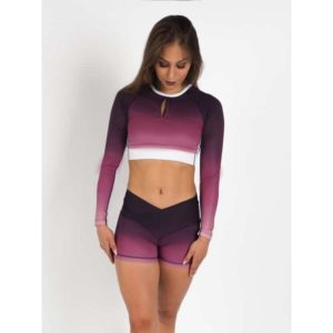 Flex Waist Shorts Purple Blush